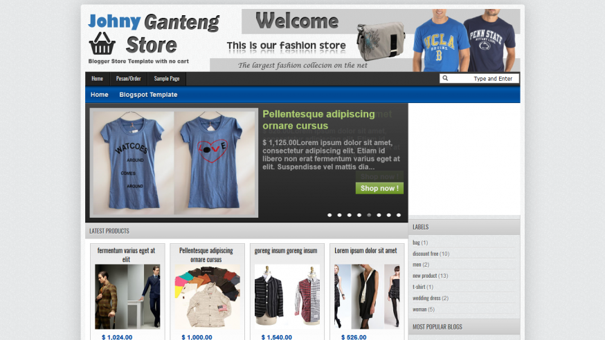 Johny Ganteng Store