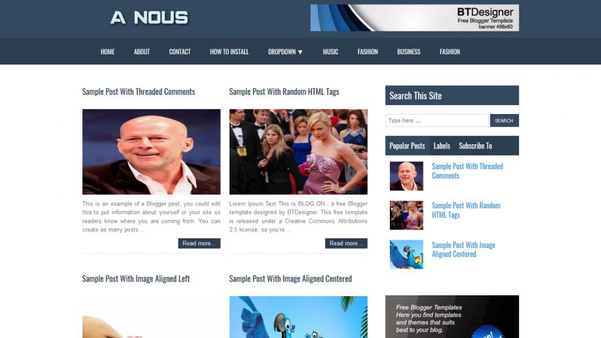 A NOUS Magazine