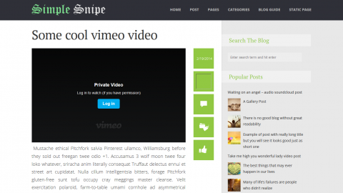 Simple Snipe