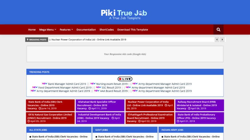 Piki True Job